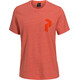 Peak Pertilmance M's Track Tee Orange Flow